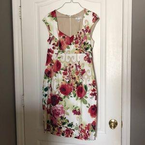Dress barn Floral Print size 10 dress